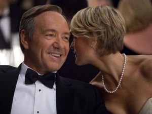 Kevin Spacey, Robin Wright in David Fincher's 'House of Cards' for Netflix