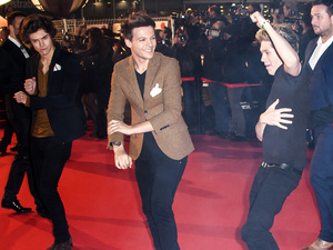 2013 NRJ Music Awards, held at the Palais des Festivals - ArrivalsFeaturing: Niall Horan (R) of One Direction dancing Gangnam Style Where: Cannes, France When: 26 Jan 2013 Credit: Jerocki/Guignebourg/News Picture/WENN.com**Only available for publication in the UK**