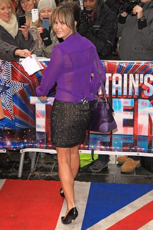 Amanda Holden, Britain's Got Talent 2013, London