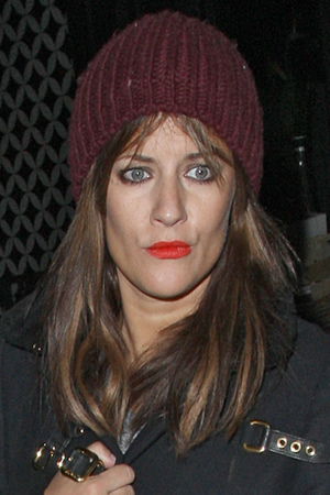 Caroline Flack leaving the Groucho after having drinks with James Arthur who left out by the back door Featuring: Caroline Flack Where: London, United Kingdom When: 25 Jan 2013