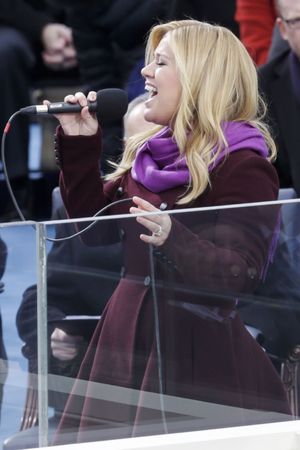 Kelly Clarkson, Inauguration Ceremony of President Barack Obama