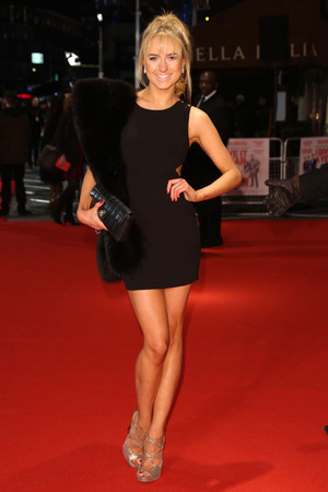 "The European premiere of ""I Give It a Year"" - Arrivals Featuring: Kimberley Garner Where: London, United Kingdom"