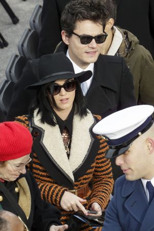 Katy Perry, John Mayer, President Obama's inauguration ceremony
