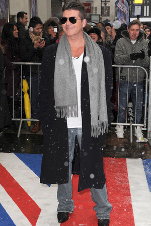Britain's Got Talent photocall held at the London Palladium Featuring: Simon Cowell Where: London, United Kingdom When: 20 Jan 2013