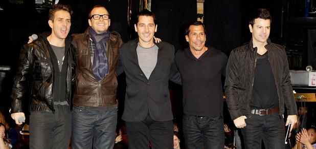 "New Kids on the Block announce ""The Package Tour"" at Irving Plaza"