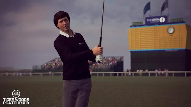 Seve Ballesteros on Tiger Woods PGA Tour 14