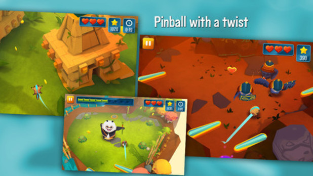 'Momonga Pinball Adventures' screenshot