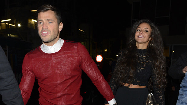 Mark Wright and Michelle Keegan leaving JalouseFeaturing: Mark Wright,Michelle Keegan