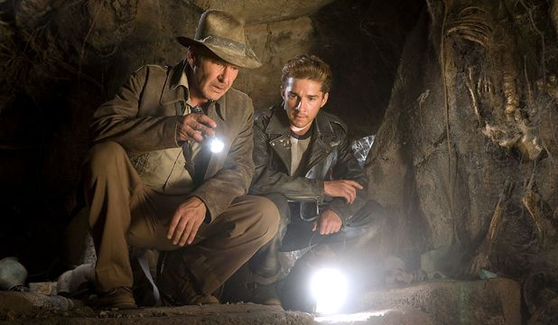 'Indiana Jones and the Kingdom of the Crystal Skull ', Harrison Ford, Shia LeBeouf