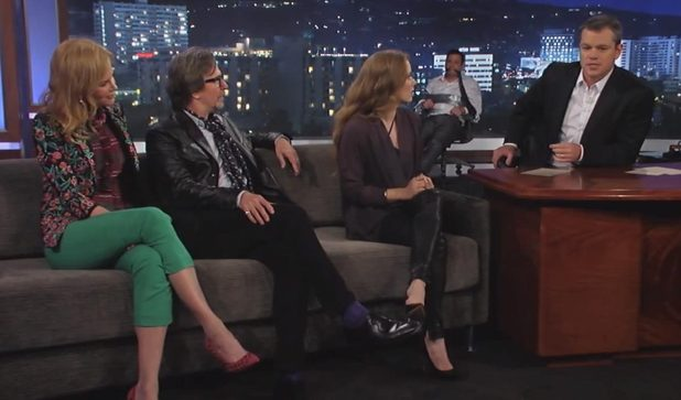 Matt Damon hijacks Jimmy Kimmel show with Nicole Kidman, Gary Oldman and Amy Adams