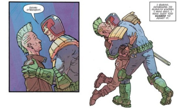 Judge Dredd The Closet