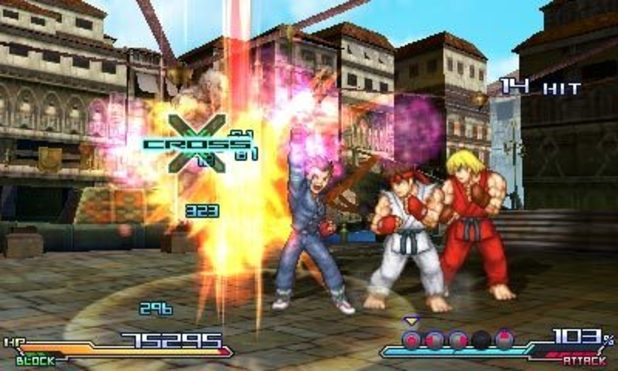 Project X Zone screenshot for 3DS