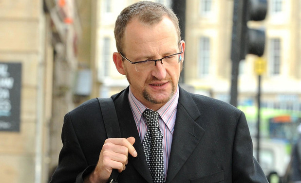 Professor Stephen Graham who is charged with causing almost £18,000 of damage to luxury cars which had polite graffiti scratched on them