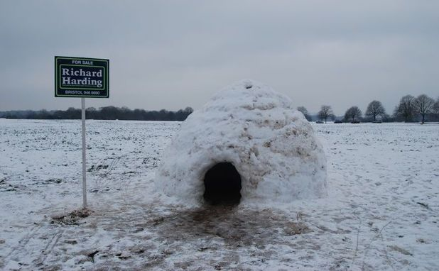 Snow house for sale
