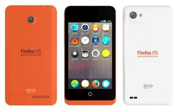 Mozilla Firefox OS phones