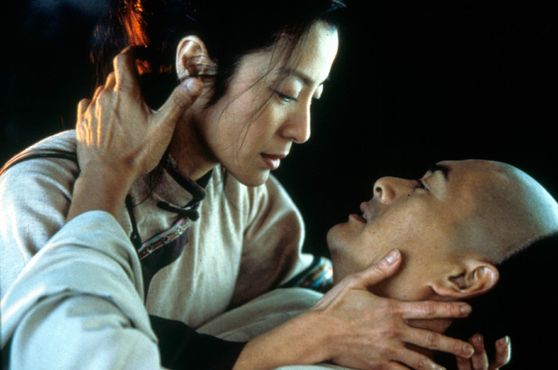 'Crouching Tiger, Hidden Dragon' still featuring Michelle Yeoh and Chow Yun-fat