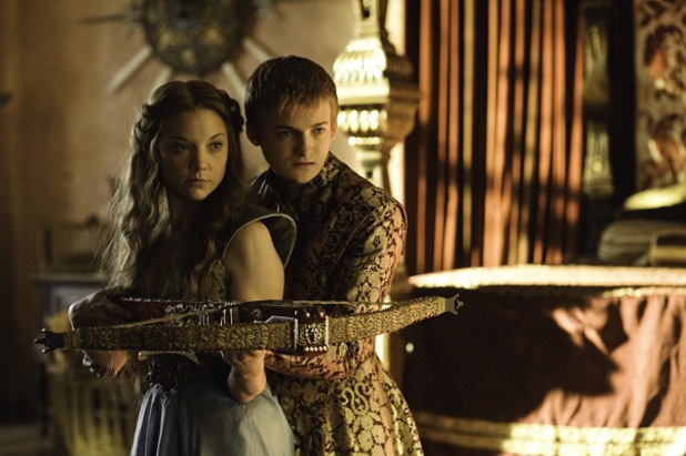 Game of Thrones - Season 3: Natalie Dormer as Margaery Tyrell, Jack Gleeson as Joffrey Baratheon
