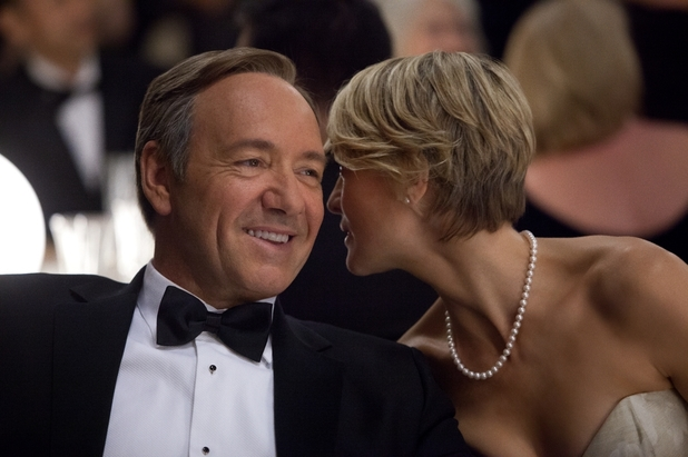 Kevin Spacey, Robin Wright in David Fincher&#39;s &#39;House of Cards&#39; for Netflix