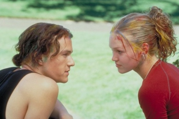 Heath ledger, Julia Stiles, 10 Things I Hate About You, 1999