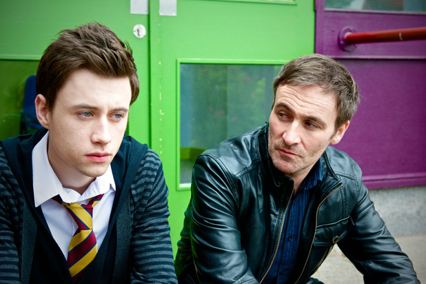 Shane O&#39;Meara and Derek Riddell in Waterloo Road