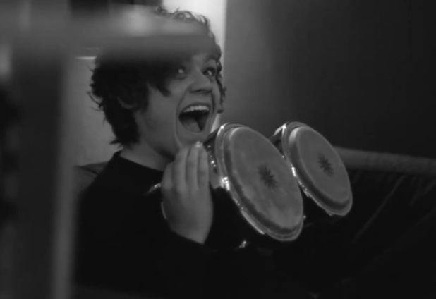 Frankie Cocozza in the video for 'Catastrophic Casanova'.