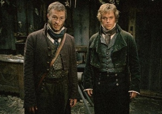 Heath Ledger, Matt Damon, The Brothers Grimm, 2005
