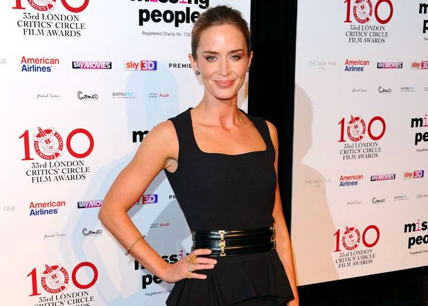 Emily Blunt, London Critics' Circle Awards, Mayfair Hotel, London