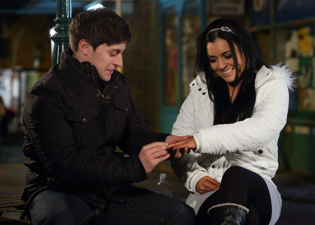 Whitney and Tyler make their engagement official.