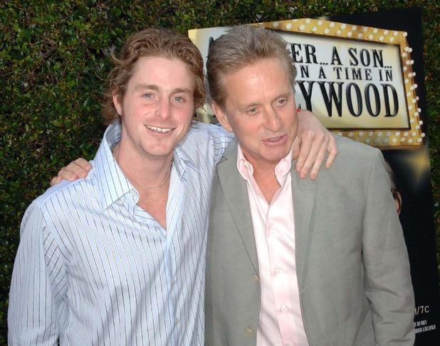 Cameron and Michael Douglas in 2005