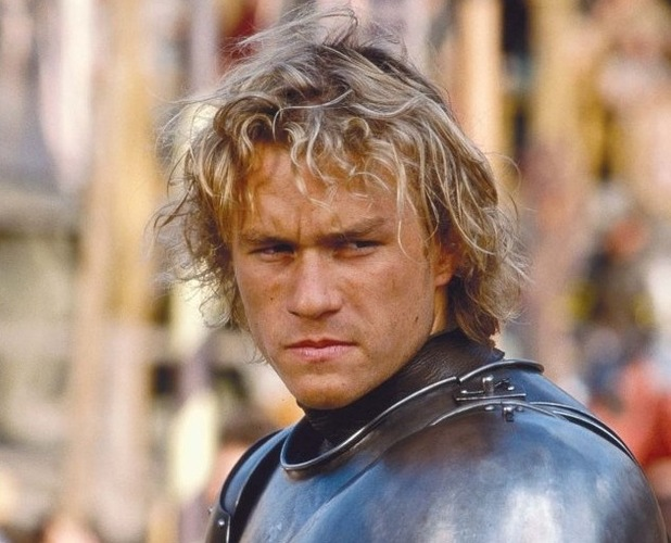 A Knight's Tale, 2001, Heath Ledger