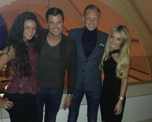 Mark Wright celebrates birthday with Michelle Keegan, Josh Wright