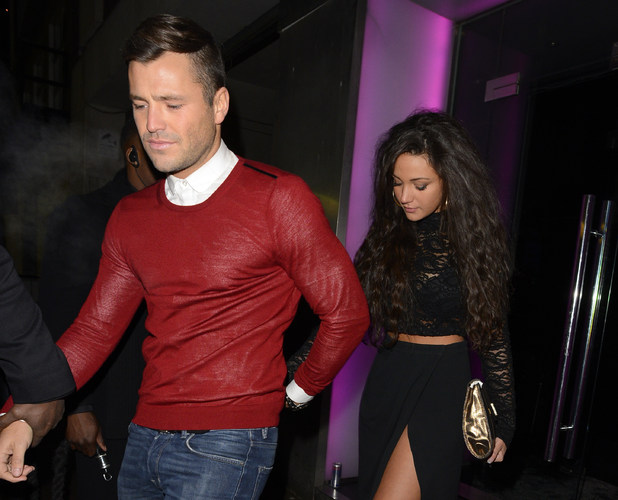 Mark Wright and Michelle Keegan leaving JalouseFeaturing: Mark Wright,Michelle Keegan Where: London, United Kingdom When: 21 Jan 2013 Credit: WENN.com