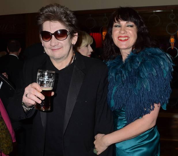 Shane MacGowan,Victoria Mary Clarke, 'Lincoln' fundraiser charity auction dinner in aid of Wicklow Hospice Foundation at The Burlington Hotel