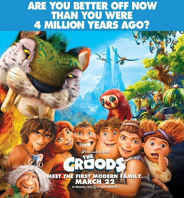 &#39;The Croods&#39; poster