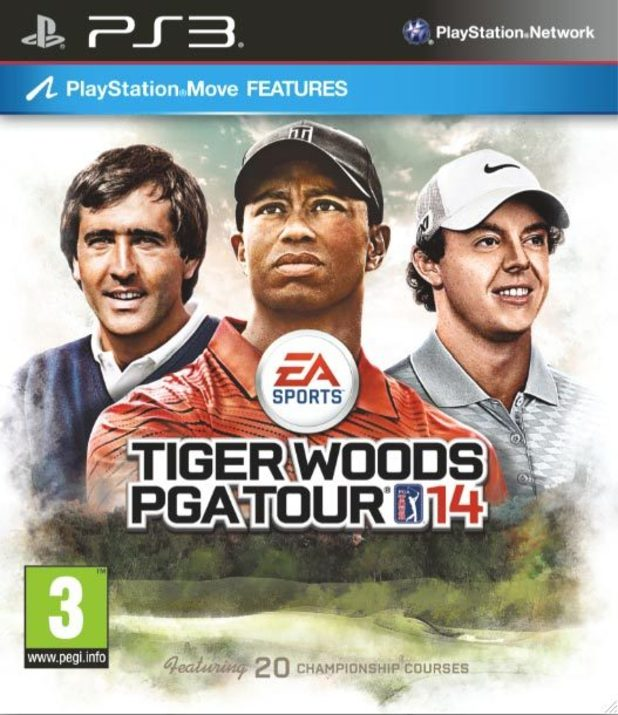 Tiger Woods PGA Tour 14 PS3 cover artwork