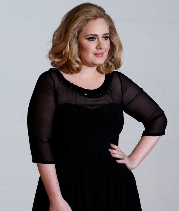 Adele 2012 Brit Awards held at the O2 Arena - Arrivals. London, England - 21.02.12 **Not Available for publication in UK Newspapers. Available for publication in the Rest of the World** Mandatory Credit: /WENN.com