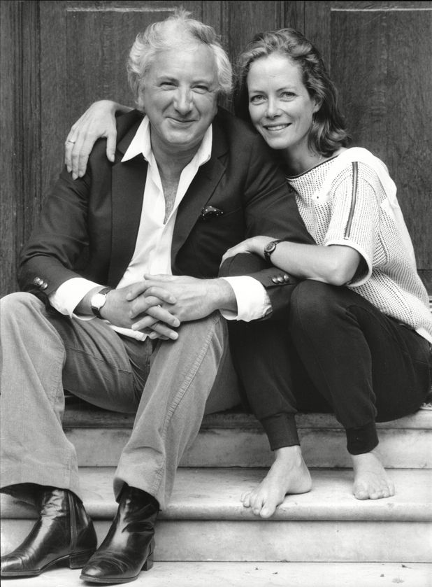 Michael Winner and Jenny Seagrove