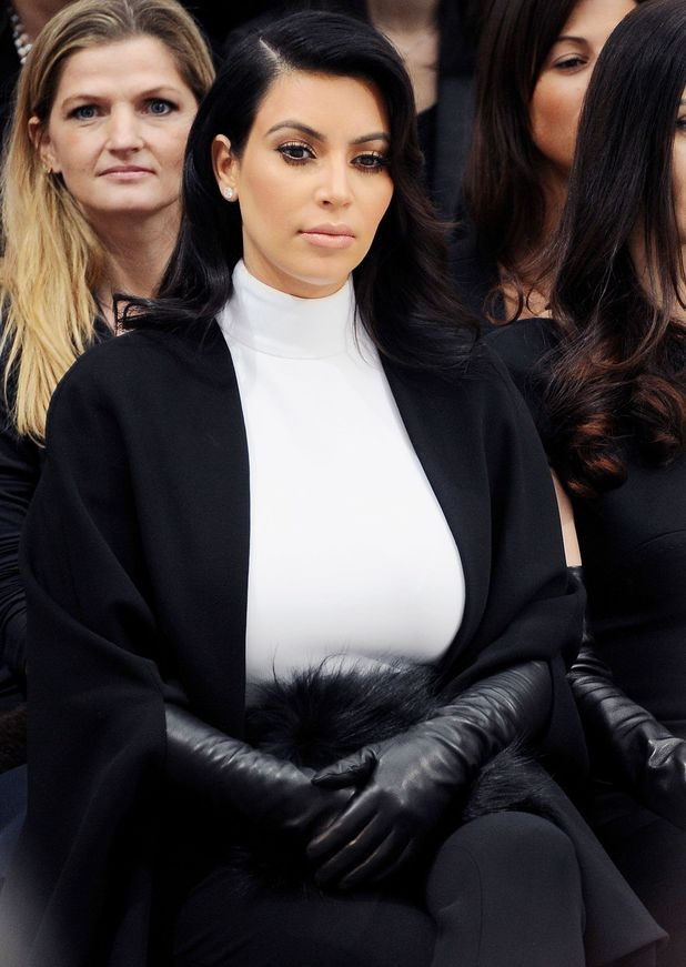 Kim Kardashian, Paris Fashion Week 2013, Stephane Rolland show, Haute Couture Spring Summer 2013