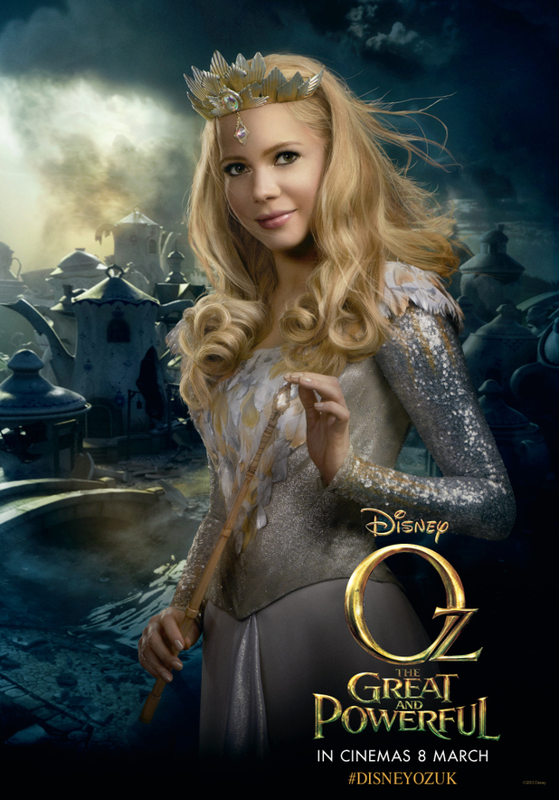 Michelle Williams as Glinda in Oz the Great and Powerful