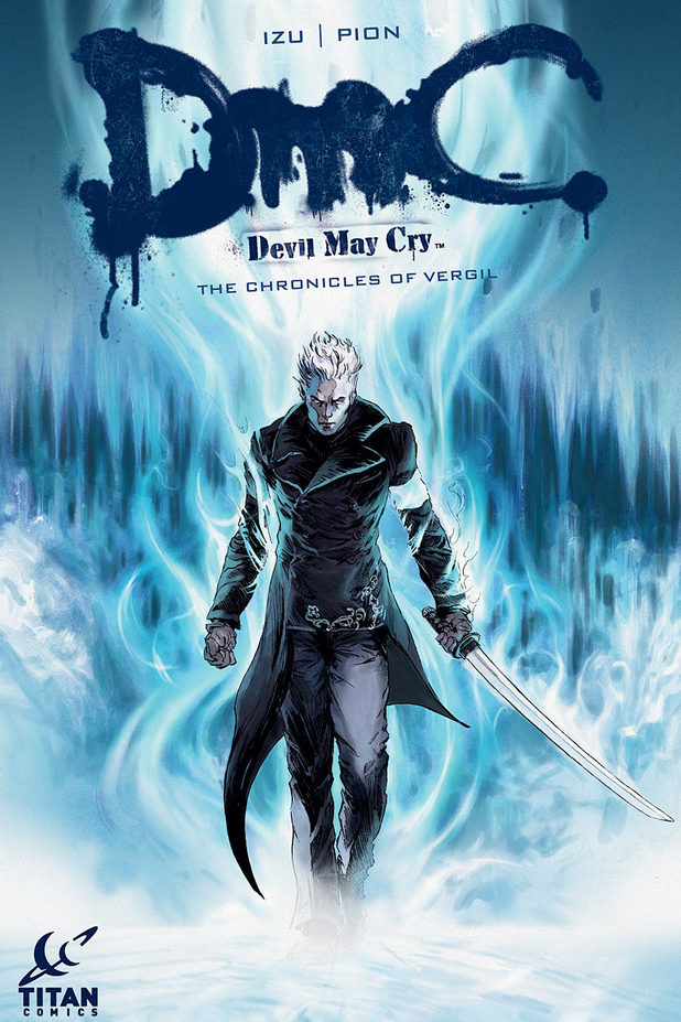 DMC Devil May Cry Vergil Chronicles comic cover