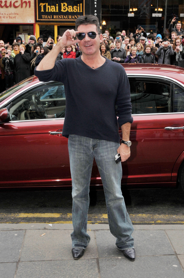 Simon Cowell arrives for 'Britain's Got Talent' Edinburgh auditions Edinburgh, Scotland