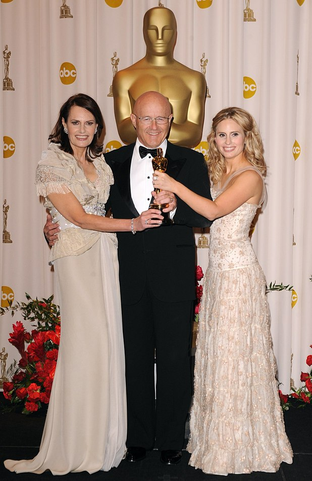 Sally Bell, Kim Ledger and Kate Ledger, Oscar