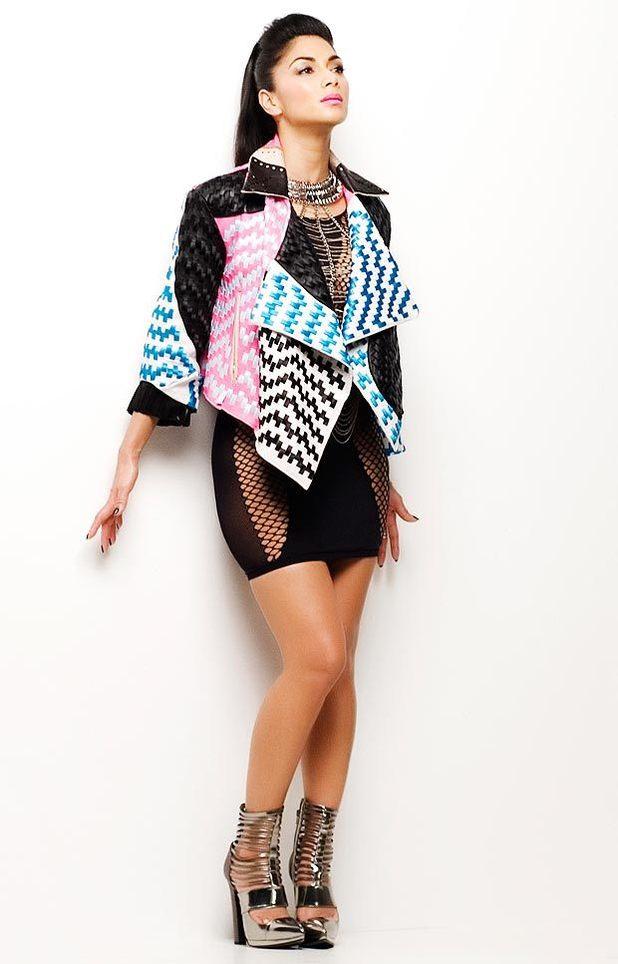 Nicole Scherzinger 'Boomerang' single promo image.