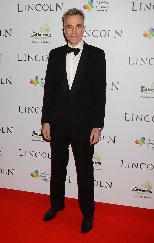 European Premiere of 'Lincoln' held at the The Savoy Cinema - Arrival Featuring: Daniel Day Lewis Where: Dublin, Ireland When: 20 Jan 2013
