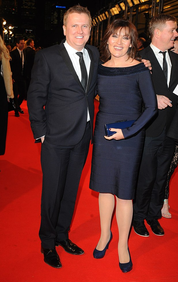 Aled Jones and Lorraine Kelly