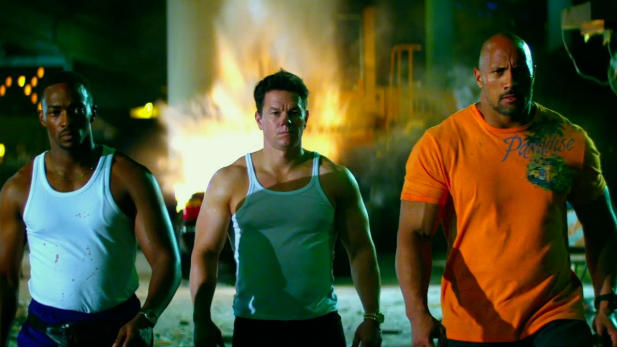 Mark Wahlberg and Dwayne Johnson star in the new action-thriller from 'Transformers' director Michael Bay.