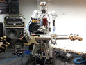 An amazing three-piece robot band also cover The Ramones in an impressive video.