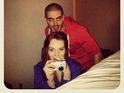 The Wanted singer reassures fans after Lohan posts a sweet picture of them online.