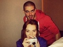 Max George mocks his rumoured girlfriend's ongoing legal troubles.