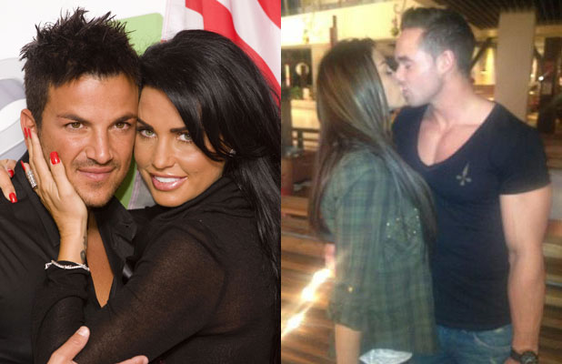 REVEAL USE composite: Katie Price, Peter Andre and Kieran Hayler